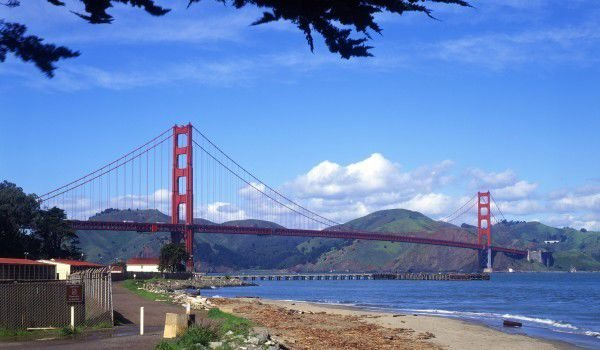 Golden Gate Bridge and Sausalito