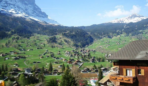 Grindelwald in Bernese Alps