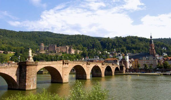 Neckar River from Heidelberg