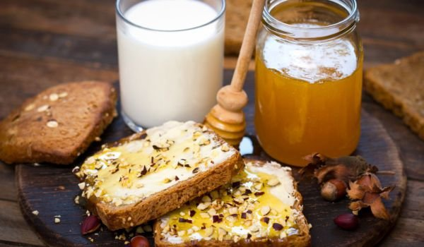 honey and butter toast