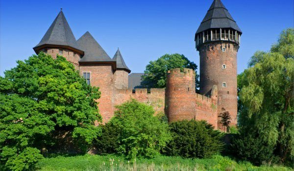 Linn Castle near Krefeld, Germany