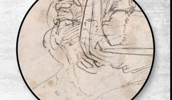 Michelangelo secret portrait