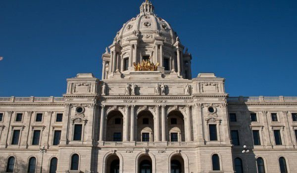 Minnesota State Capitol in Saint Paul