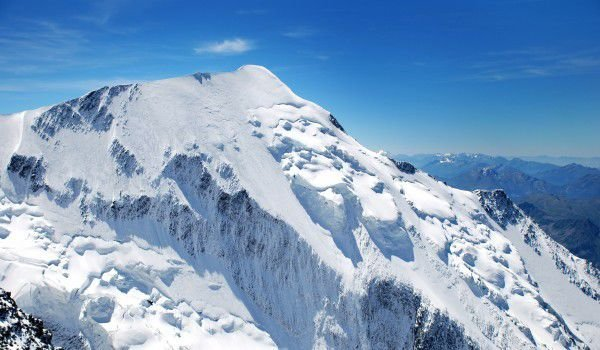 Mont Blanc in France