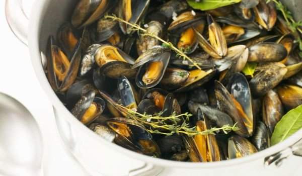 how to cook mussels without wine