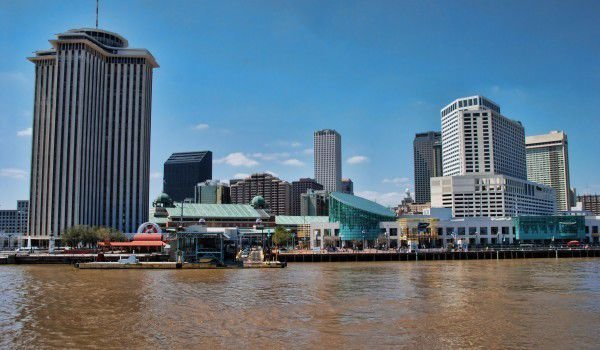 New Orleans and Missisipi River