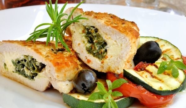 Chicken with Filling