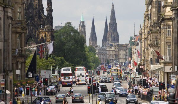 Edinburgh Princes Street