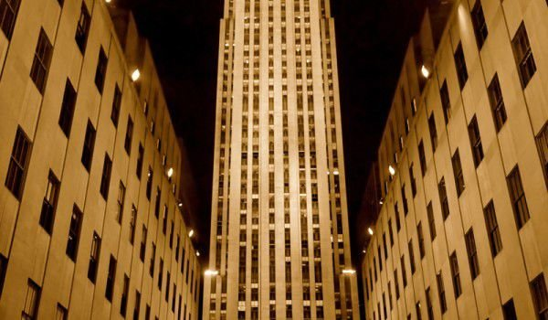 Rockefeller Center in Manhattan