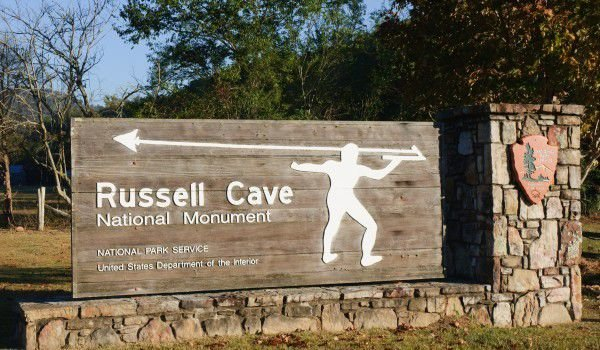 Russel Cave in Bridgeport, Alabama