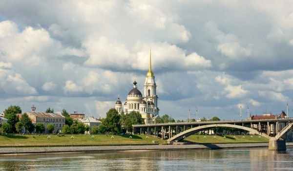 Rybinsk and Volga River