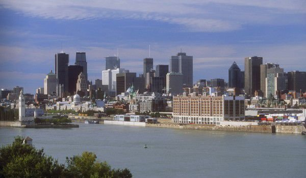 Saint Lawrence River in Montreal
