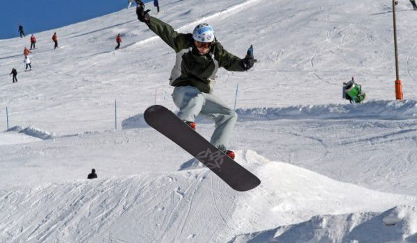 A Heated Snowboard Competition in Bansko