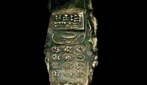 Eight Hundred Year Old Cell Phone