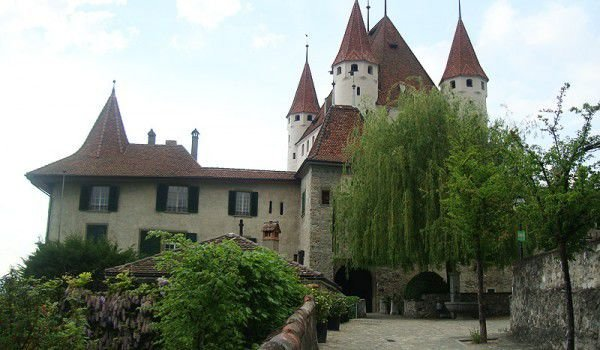 Thun Castle Switzerland