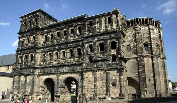 Roman Gate in the Alps - Porta Nigra