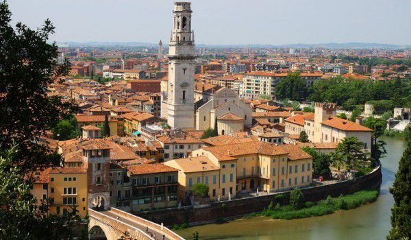 Saint Peter Bridge in Verona