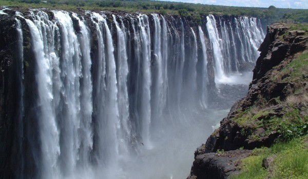 World's largest waterfall Victoria falls