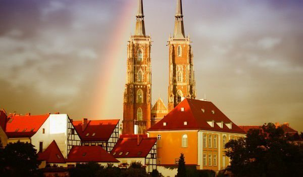 Wroclaw - St. Elisabeths Church