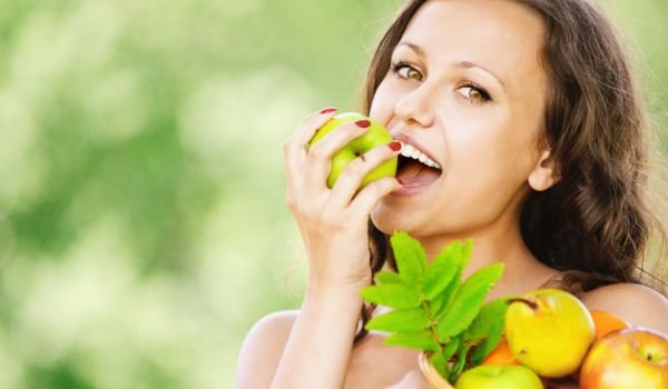 Eating fruits