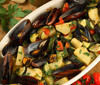 Mussels with Fried Potatoes - tastycraze.com