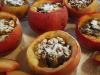 Stuffed Apples for Christmas