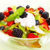 Fruit Salad with Strained Yoghurt